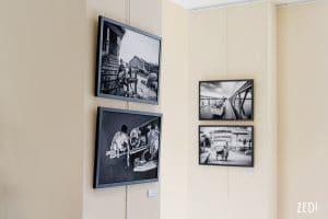 Une exposition du photographe Lyon fine art corporate qui réalise des portraits et des images d'entreprise en Auvergne Rhône Alpes